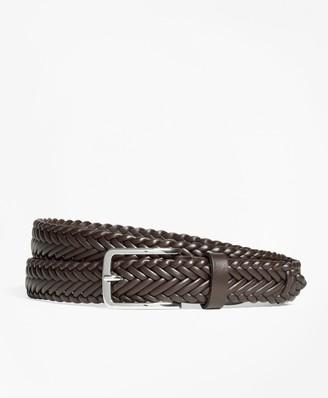 Brooks Brothers Soft Braided Belt