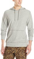 Lucky Brand Men's Grey Label Hooded Shirt