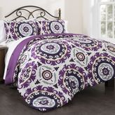 Republic Suzani Royal Lilac 3-piece Comforter Set
