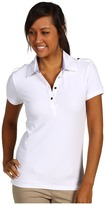 Tommy Hilfiger Betsy S/S Polo (White) - Apparel