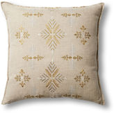 Coral & Tusk Exclusive Snowflakes 20x20 Linen Pillow