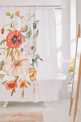 Deny Designs Shealeen Louise For Deny Wildflower Bouquet Shower Curtain