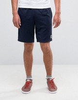 Adidas Originals Superstar Shorts In Navy Ay7702