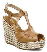 JB Martin Women's Inite Wedge heel Sandals in Brown