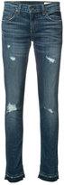 Rag & Bone Jean - slim-fit jeans - women - Cotton/Polyurethane - 24