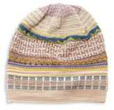 Missoni Patterned Wool Slouchy Beanie