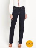 NYDJ Marilyn High Waisted Straight Leg Jean