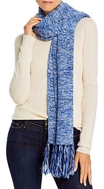 Aqua Marl Knit Scarf - 100% Exclusive