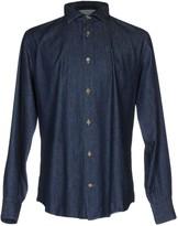 Eleventy Denim shirts - Item 42610859