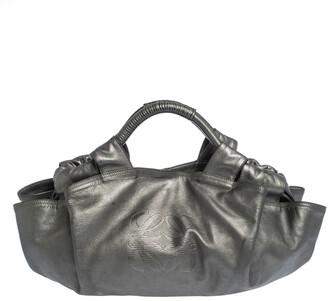 Loewe Metallic Nappa Leather Aire Hobo