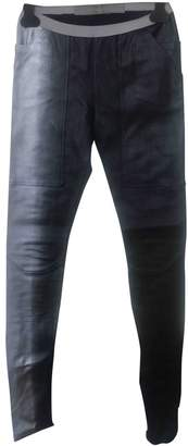 Rick Owens Other Leather Trousers