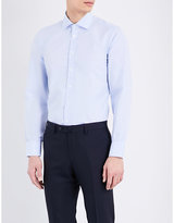 Turnbull & Asser Slim-fit Micro Dot Cotton Shirt