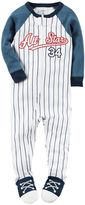 Carter's Baby Boy All-Star Baseball Footed Pajamas