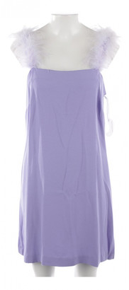 STAUD Purple Viscose Dresses