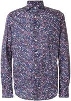 Glanshirt floral print cotton shirt