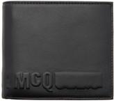 McQ Black Logo Wallet