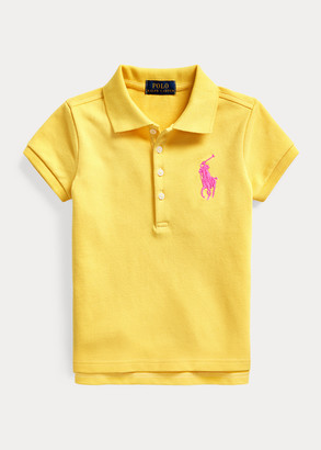 Ralph Lauren Big Pony Stretch Mesh Polo Shirt