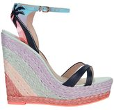 Sophia Webster Lucita Leather Wedge
