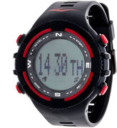 Everlast Black Pedometer Watch