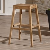 Crate & Barrel Regatta Backless Bar Stool