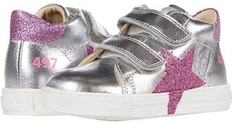 Naturino Falcotto Salazr VL AW20 (Toddler) (Silver) Girl's Shoes