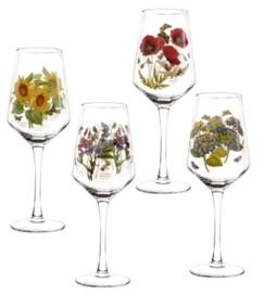 Portmeirion Botanic Garden Wine Glasses, Set of 4