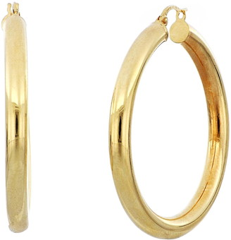 Bony Levy Tube Hoop Earrings