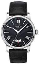 Montblanc Men's 4810 43mm Alligator Leather Band Steel Case Automatic Analog Watch 115122