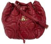 Vivienne Westwood Quilted Bucket Bag