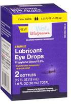 Walgreens Balance Lubricating Long Lasting Eye Drops