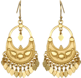 Satya Jewelry Lotus Flower Chandelier Earrings