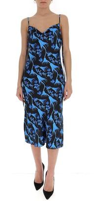 Marine Serre Printed Slip Dress