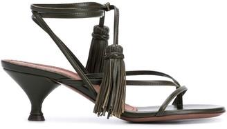 L'Autre Chose Tassel-Detail 65mm Strappy Sandals