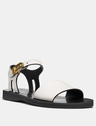 Coach Ankle Strap Sandal