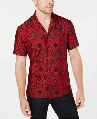 INC International Concepts Inc Men Spiral Print Shirt
