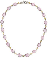 Konstantino Pink Mother-of-Pearl Doublet Necklace