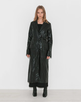 Nomia Belted Trench