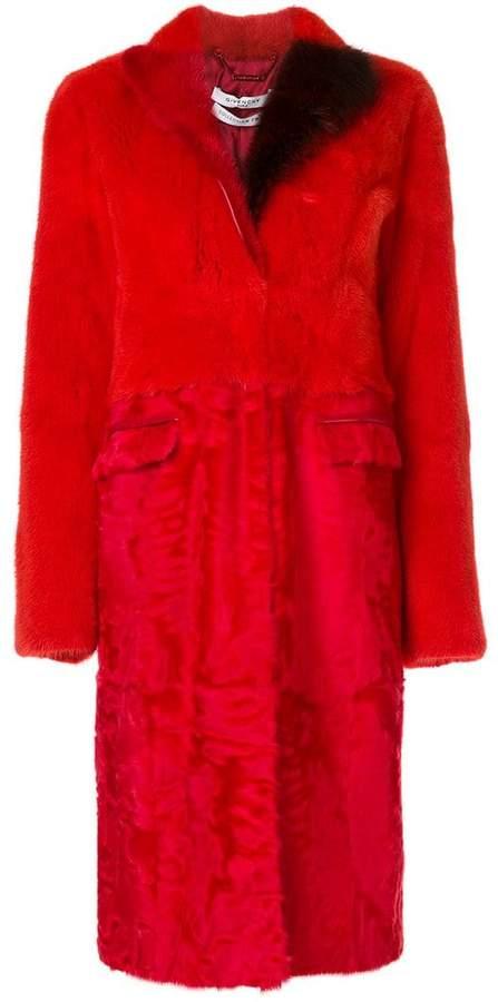 Givenchy panelled coat
