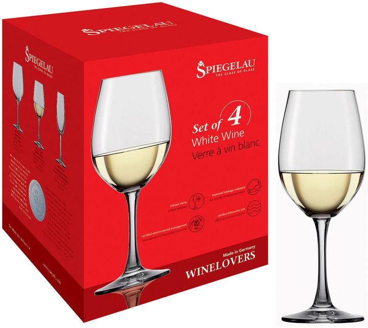 Spiegelau Wine Lovers Set of 4 White Wine Glasses
