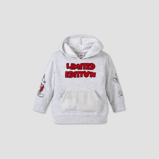 Disney Toddler Boys' Mickey Mouse Limited Edition Fleece Pullover Sweatshirt -