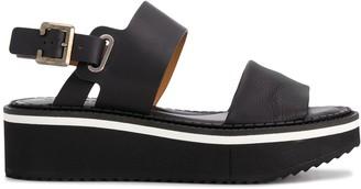 Clergerie Platform Slingback Sandals