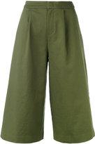 Vis A Vis - wide leg culottes - women - Cotton/Polyurethane - 2