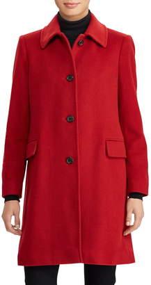 Lauren Ralph Lauren Cashmere & Wool Walking Coat