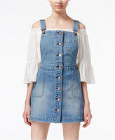 American Rag Denim Overall Jumper, Only at Macy's