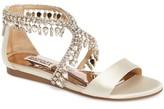 Badgley Mischka Women's Tristen Crystal Sandal