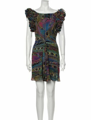 Matthew Williamson Silk Mini Dress