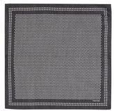 Tom Ford Geometric Print Silk Pocket Square