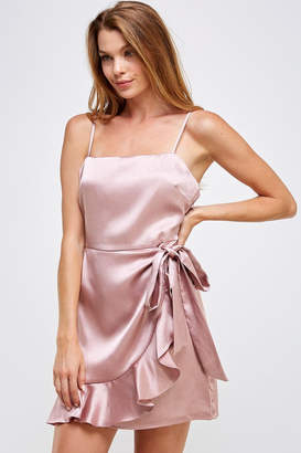 Cotton Candy Tie Front Dress
