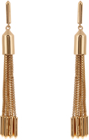 Eddie Borgo Neo Tassel gold-plated earrings