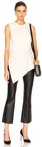 Victoria Beckham Sleeveless Asymmetric Top